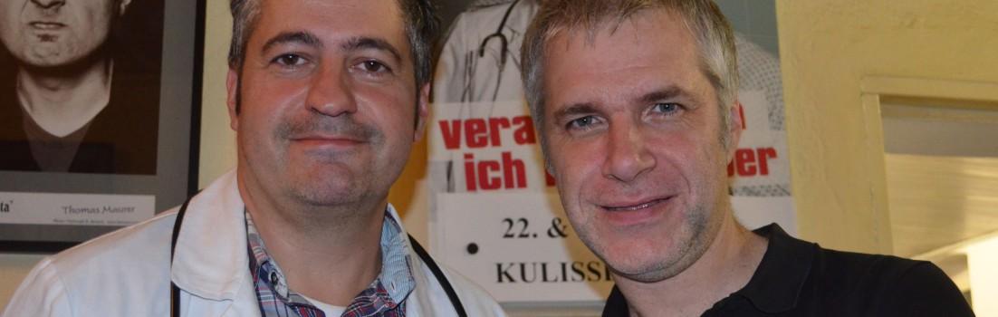 Peter & Tekal: Medizin-Kabarett vom Feinsten