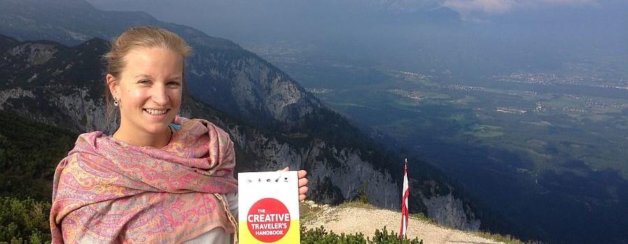 Kreativ rund um den Globus: Elena Paschingers Abenteuer in Buchform