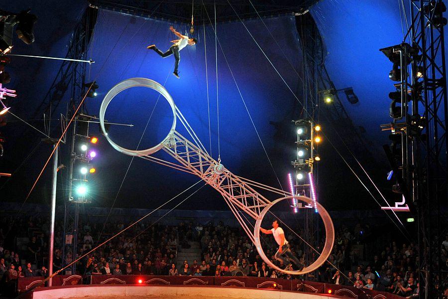 Circus Louis Knie Todesrad